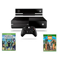 Microsoft Xbox One 500 GB Kinect Sports Rivals + Zoo Tycoon (7UV-00257) černá 7UV-00257