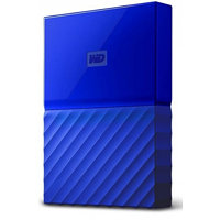 "WD My Passport 4TB / Externí / USB 3.0 / 2,5"" / Blue (WDBYFT0040BBL)"