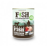 Topstein Fish with Chicken and Beef Meat
