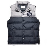Vesta K1X - Pa Vest Dark Grey Heather/Navy (8486) 1100-0219 F14 8486