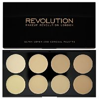 Makeup Revolution Ultra krycí paletka (Ultra Cover and Conceal) Light