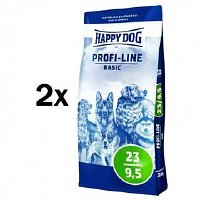 HAPPY DOG Profi-Line BASIC 23/9,5 - 2 x 20 kg