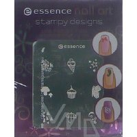 Essence Nail Art Stampy Designs šablony na razítko 01 Have Fun!