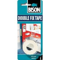 Bison Double Fix Tape oboustranná lepící páska 1,5 m x 19 mm