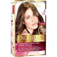 Loreal Excellence Creme 6 tmavá blond barva na vlasy
