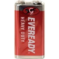 Eveready Red baterie 6F22 9V 1 kus
