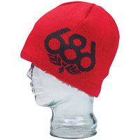 686 Wreath Fleece Beanie Red