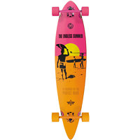 Longboard DUSTERS - Endless Summer Yellow/Orange/Pink (YELLOW/ORANGE/PINK) velikost: 42