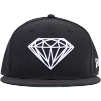 Kšiltovka DIAMOND - Brilliant Fitted C14DHE01 F14 BLK_7 1/8