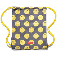 Gymsack KREAM - Kream Sheepan Upturn Bag Black/Yellow (0200) velikost: OS 9143-5631 S15 0200_OS
