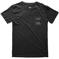 Triko SUPRA - Cross Out Premium Pocket Tee S5111503 S15 BLK_L