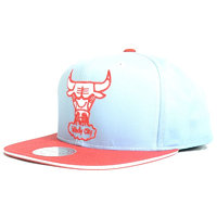Kšiltovka MITCHELL & NESS - The Fade 2 Tone Leather EU458 S15 BULLS_OS