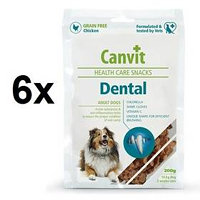 Canvit Snacks Dental 6 x 200g