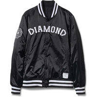 Bunda DIAMOND - Dugout Varsity Jacket A15DTC01 S15 BLACK_L