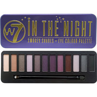 W7 In The Night Eye Colour Palette paletka 12 očních stínů