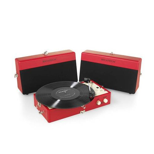 Gramofon RICATECH RTT80 Red