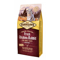 Carnilove Chicken & Rabbit Gourmand for Adult cats 6 kg