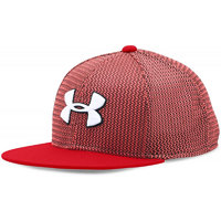 Under Armour Boy'S Twistknit Snapback Red Black White Osfa