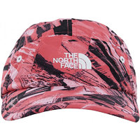 The North Face Youth Party Back Hat Honeysuckle pink spirograph hike print