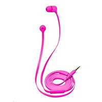 Trust Duga In-Ear Headphones - neon pink
