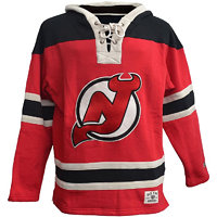 Old Time Hockey Pánská mikina s kapucí Lacer Fleece NHL New Jersey Devils, S