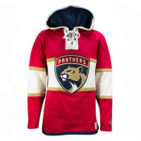 Old Time Hockey Pánská mikina s kapucí Lacer Fleece NHL Florida Panthers,