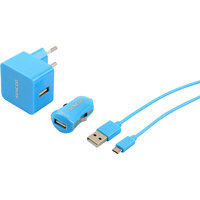 SENCOR SCO 516-000BL USB KIT 1M/WALL/CAR