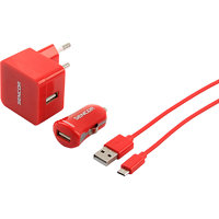 SENCOR SCO 516-000RD USB KIT 1M/WALL/CAR