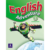 English Adventure Level 1 Activity Book - Worrall, Anne