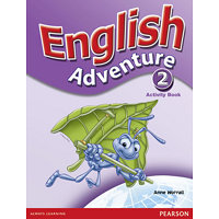 English Adventure Level 2 Activity Book - Worrall, Anne