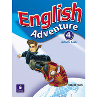 English Adventure Level 4 Activity Book - Hearn, Izabella