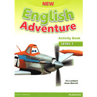 New English Adventure 1 Activity Book and Song CD Pack - Worrall, Anne