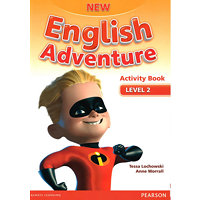 New English Adventure 2 Activity Book and Song CD Pack - Worrall, Anne