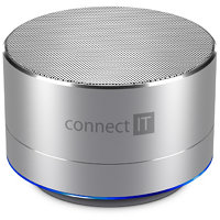 Connect IT Bluetooth reproduktor BOOM BOX BS500S, silver