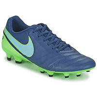 Nike TIEMPO GENIO II LEATHER FIRM GROUND Modrá EU 42 1/2