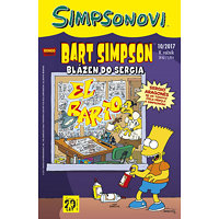 Simpsonovi - Bart Simpson 10/2017 - Blázen do Sergia - Groening Matt