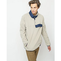 Herschel Supply Fleece Pull Over Oatmeal/Peacoat