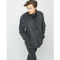 Herschel Supply Fleece Zip Up Black