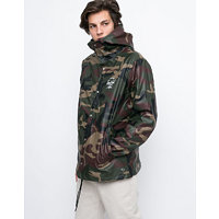 Herschel Supply Forecast Hooded Woodland Camo/White Classic Logo