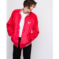 Obey Warrior Shanghai Satin Bomber Red