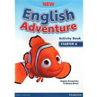New English Adventure Starter A Activity Book and Song CD Pack - Regina Raczyńska, Cristiana Bruni
