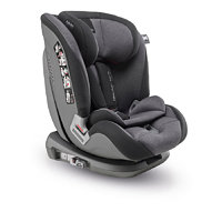 Inglesina Newton Ifix Group 1/2/3, Black