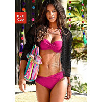 S. Oliver RED LABEL Beachwear Bikinový top s kosticemi »Spain« s.Oliver RED LABEL pink - košíček A