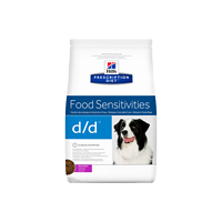 Hill's Prescription Diet™ d/d™ Canine Duck & Rice granule 2 kg