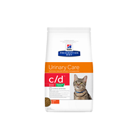 Hill's Prescription Diet™ c/d™ Feline Urinary Stress Reduced Calorie Chicken granule 1,5 kg