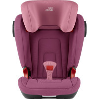KIDDY Autosedačka Kidfix 2 S, Wine Rose