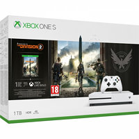 Microsoft Xbox One S 1 TB + Tom Clancy's The Division 2 XBXMSOH00097