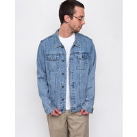 Obey New Reality Denim Jacket Light Indigo