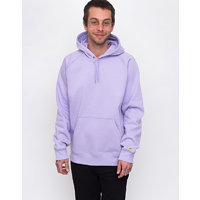 Carhartt WIP Hooded Chase Sweat Soft Lavender/Gold