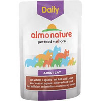 Almo Nature Cat Daily Menu kapsička 24 x 70 g - kachna & kuře